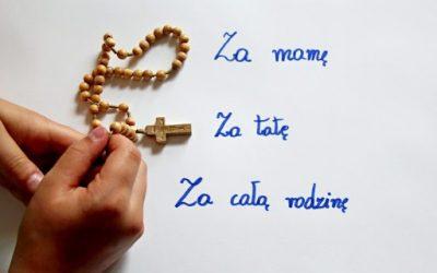 Harmonogram uczestnictwa dzieci komunijnych we Mszy św. z poświęceniem różańca oraz w nabożeństwie różańcowym